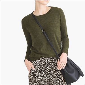J. Crew Mercantile Green Wool Sweater